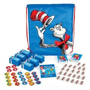Dr. Seuss Cat in the Hat Party Favors Kit 24 goody